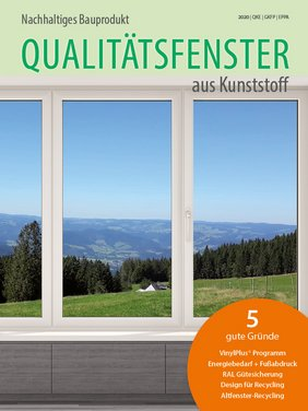 The GKFP sustainability brochure is included in the current bauelemente bau issue 6+7/2020.